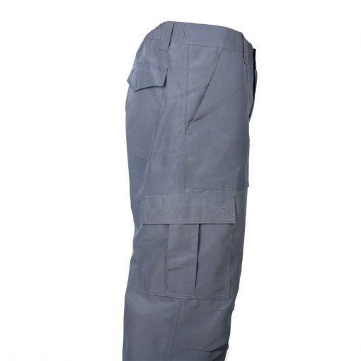 pantalon cargo poplin