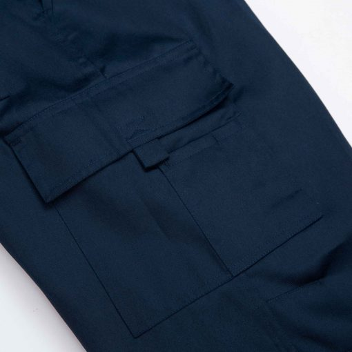 pantalon cargo gabardina