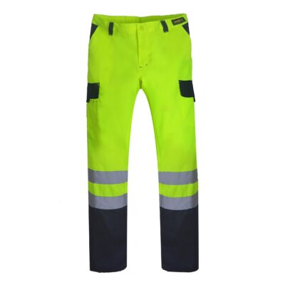 pantalon cargo vial bi color