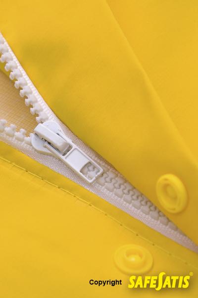 traje amarillo