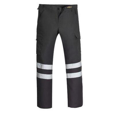 pantalon cargo canvas cinta reflectiva