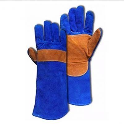 Guantes-Soldador-Reforzado-Azul-Hilo-Kevlar